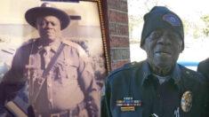 """Actitud optimista de un policía de 91 años inspira a la comunidad de Arkansas: """"Amo a la gente"""""""