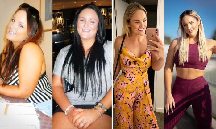 """Mujer avergonzada por ser """"gorda"""" pierde más de la mitad de su peso en 3 años y comparte su secreto"""