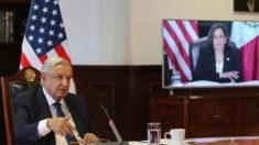 "López Obrador destaca conversación ""amistosa"" con Harris sobre migración"