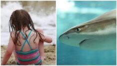 """Niña tiene un """"encuentro cercano"""" con un tiburón a orillas del mar: """"Mi alma dejó mi cuerpo"""""""