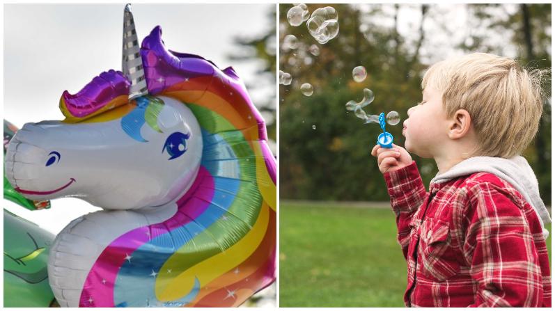 Maestra aparece disfrazada de unicornio en cumpleaños de alumno autista y lleva alegría a la pandemia