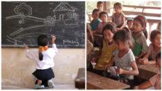 """""""Niña maestra"""" crea la Escuela de la Esperanza para los niños sin recursos durante la pandemia"""