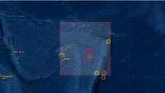 Un terremoto de magnitud 6.7 sacude Fiyi en el Pacífico Sur