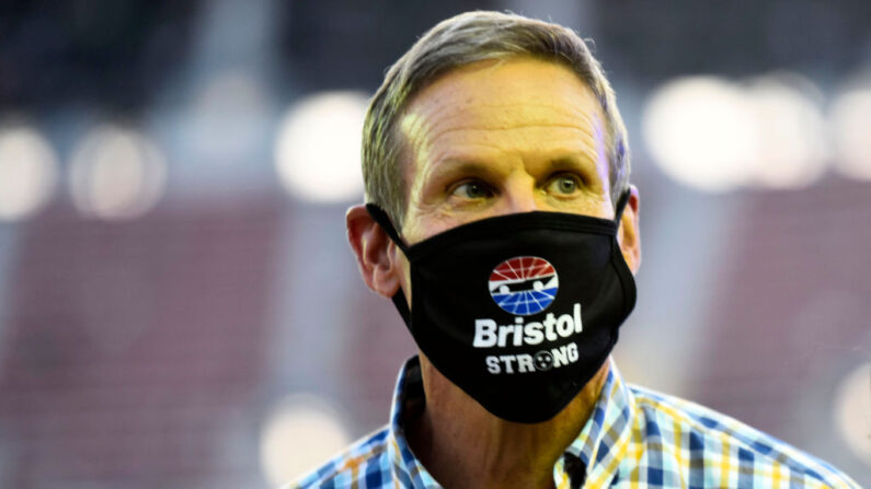 El gobernador de Tennessee, Bill Lee, en el Bristol Motor Speedway el 15 de julio de 2020 en Bristol, Tennessee. (Jared C. Tilton/Getty Images)