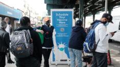 Nueva York ofrecerá vacunas contra covid-19 en sus estaciones de metro