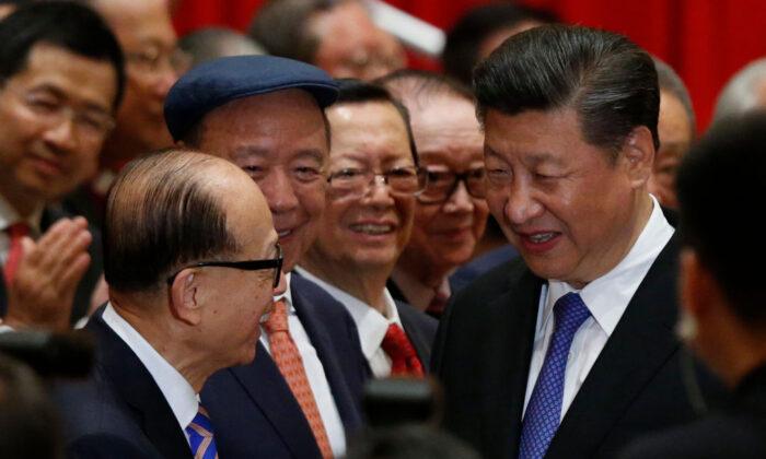 Corrección política de los magnates de Hong Kong