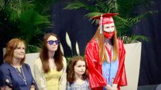 Hija de militar desplegado en Oriente Medio recibe una inolvidable sorpresa en su graduación