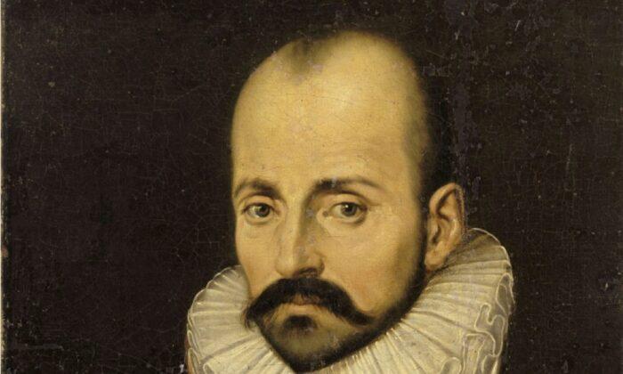 Retrato de Michel de Montaigne, hacia la década de 1570. (Dominio público)