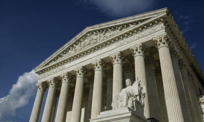 La Corte Suprema de Estados Unidos en Washington, el 7 de mayo de 2019. (Samira Bouaou/The Epoch Times)