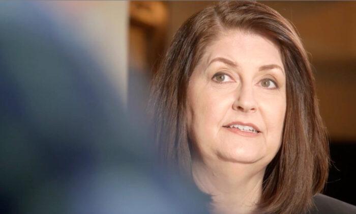 Susan Wright. (Susan Wright for Congress/Captura de pantalla vía NTD)