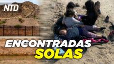 NTD Noticias: Encuentra niños pequeños en su granja; Estadounidenses se quitan las mascarillas