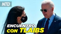 NTD Noticias: Biden y Tlaib discuten conflicto en Medio Oriente; Biden presenta en Ford plan de 170,000 M