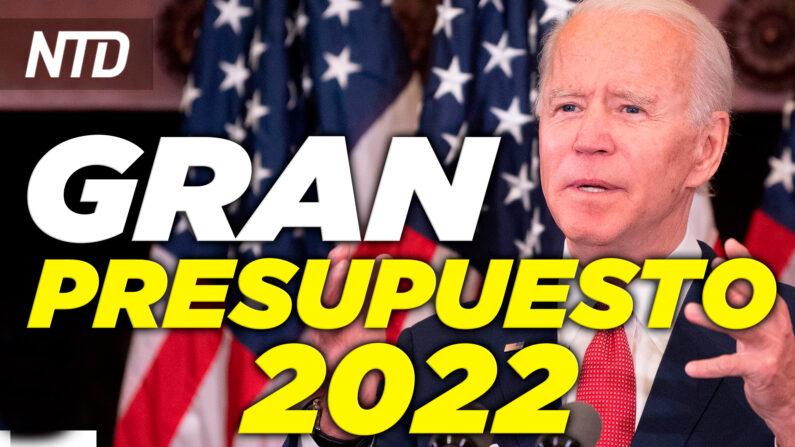 Biden presentó el presupuesto para 2022; Aumentan arrestos de delincuentes sexuales en TX  NTD noticiero en español
