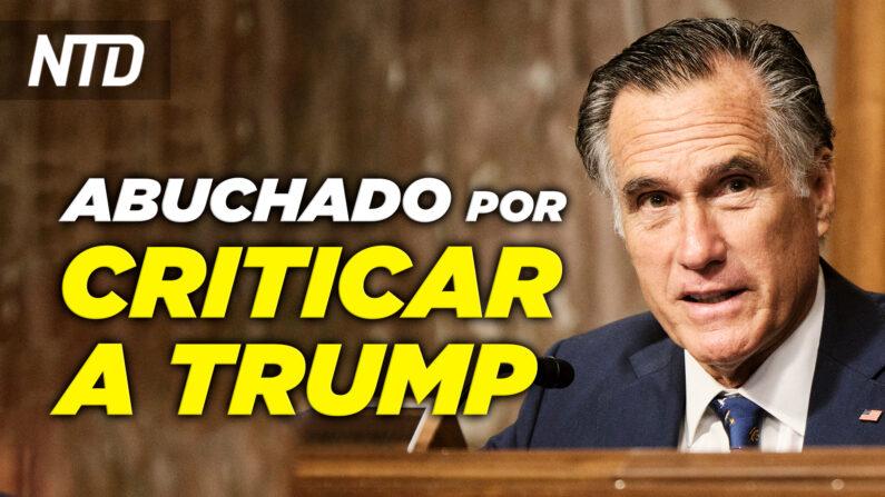 NTD Noticias: Mitt Romney abucheado por criticar a Trump; Giuliani: FBI espió sus conversaciones con Trump. (NTD Noticias/NTD en Español)