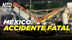 NTD Noticias: México: Al menos 23 muertos en accidente de tren; Biden eleva límite de refugiados tras críticas.