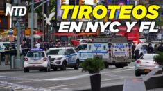 NTD Noticias: Tiroteos en NYC y FL dejan varios heridos; OKLA. prohíbe teoría crítica de la raza en escuelas