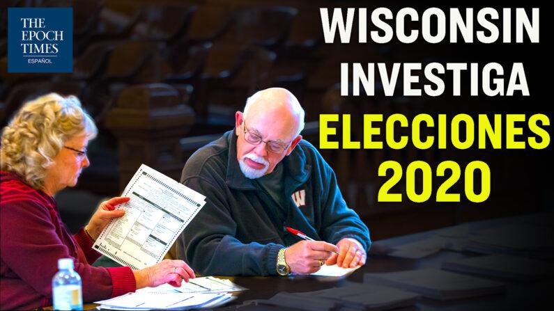 Ahora Wisconsin se suma a investigar la disputa electoral 2020. (Al Descubierto/The Epoch Times en Español)