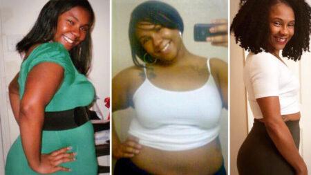 """Madre a quien llamaban """"bola de mantequilla"""" por su sobrepeso y trastorno hormonal pierde 130 libras"""