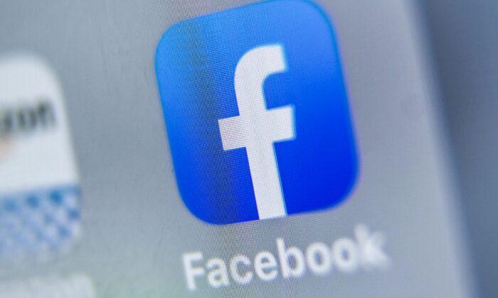 El logotipo de Facebook en una tableta en Lille (Francia) el 28 de agosto de 2019. (Denis Charlet/AFP a través de Getty Images)