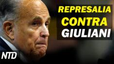 NTD Noticias: Análisis de investigación del FBI sobre Giuliani; Condenan ataque a reportera de Epoch Times