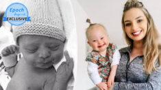 """Joven madre se niega a abortar a su bebé con síndrome de Down: """"Miren más allá de las etiquetas"""""""