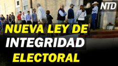 NTD Noticias: Texas: Nueva ley de integridad electoral; Buscan ampliar auditoría