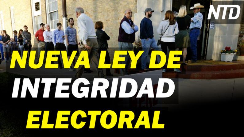 NTD Noticias: Texas: Nueva ley de integridad electoral; Buscan ampliar auditoría (NTD Noticias/NTD en Español)