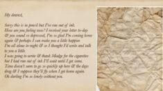Encuentran cartas de amor de la Segunda Guerra Mundial bajo tablas de piso de hotel del Reino Unido