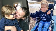 Mamá de niño en silla de ruedas deja mensaje a personas que no enseñan a sus hijos sobre discapacidad