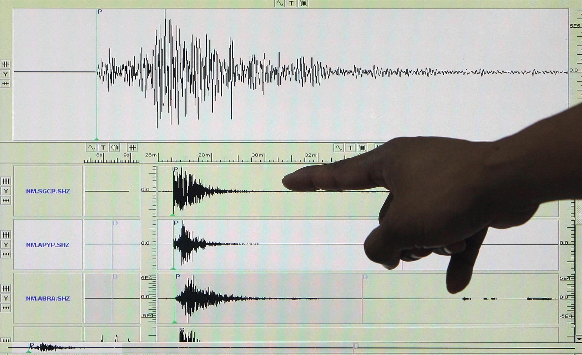 Un sismo de magnitud 6.0 sacude la costa central de Perú