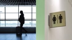 """Mujer paga hotel a mamá que dormía a sus hijos en el baño del aeropuerto: """"Pedí a Dios y apareciste"""""""