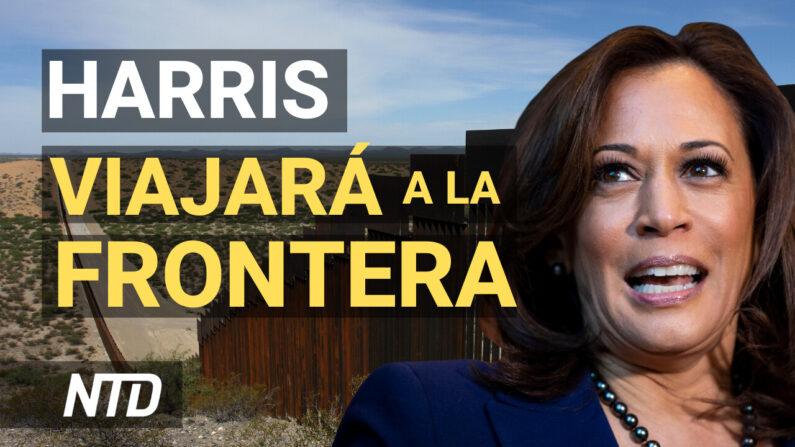 Vicepresidenta Harris visitará TX; Inmigrantes emprenden viaje peligroso hacia el Norte| NTD noticiero en español
