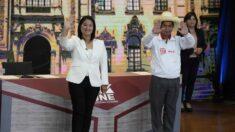 Fujimori aventaja a Castillo en 0.7 puntos, con el 90.5 % de votos contados