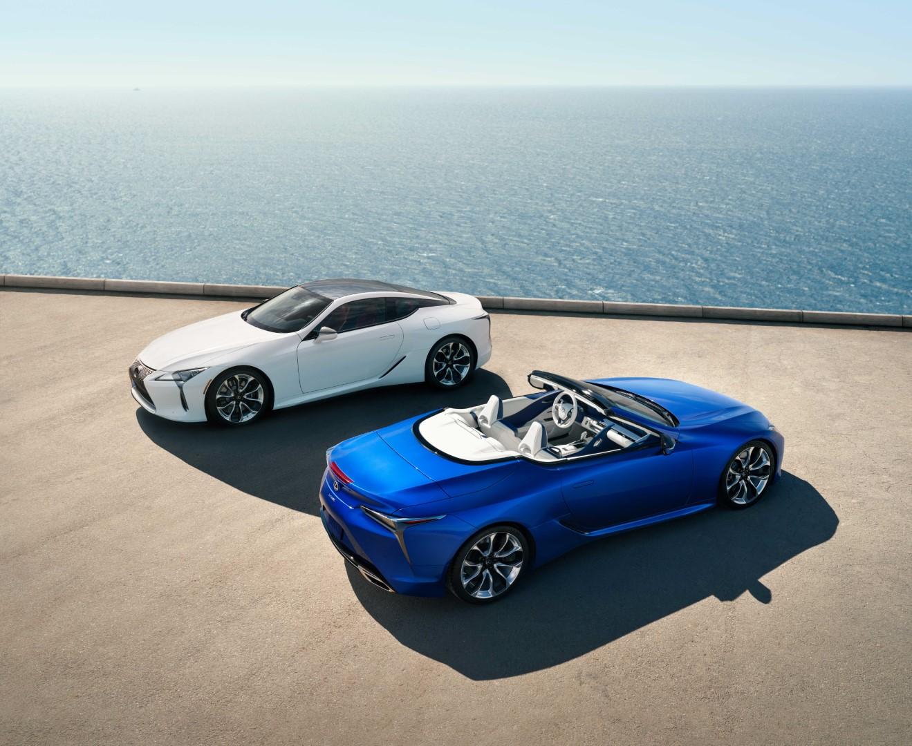 Para disfrutar el verano con elegancia, Lexus LC 500 convertible