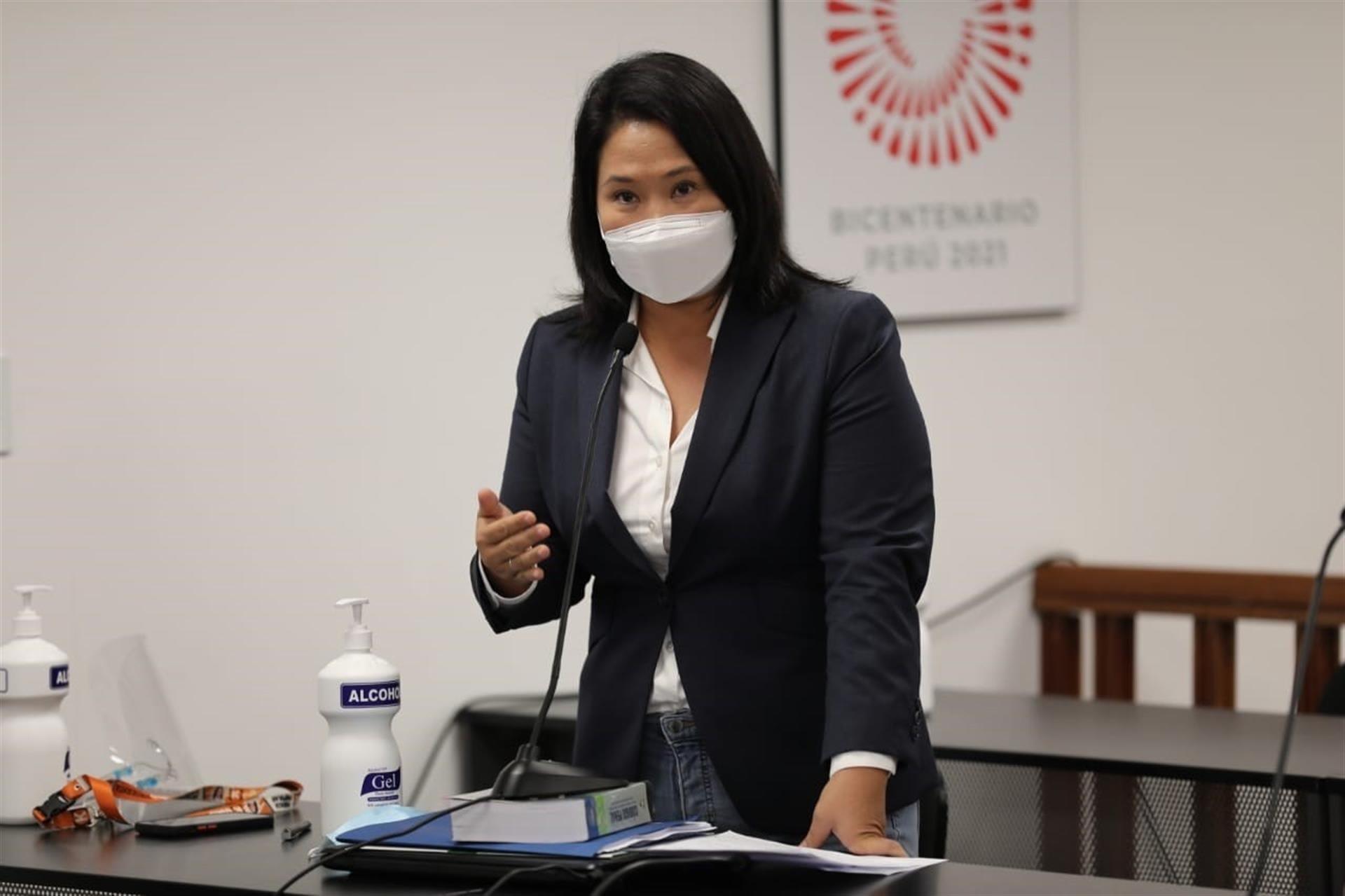 Keiko Fujimori no regresará a prisión preventiva