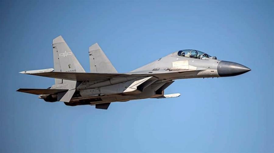 Taiwán anuncia una nueva incursión de siete aviones chinos en su zona de defensa aérea
