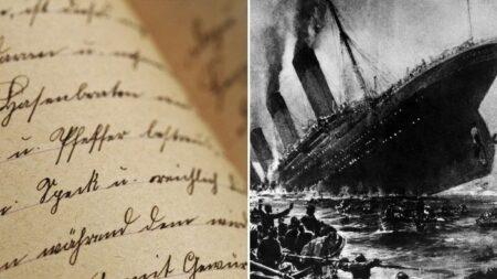 Misteriosa carta de pasajera de 12 años del Titanic es encontrada en Canadá: ¡105 años después!