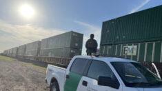 Capturan a 3390 extranjeros ilegales en trenes de Uvalde, Texas, más que 372 del año pasado