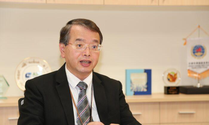 Wu Chung-hsiun, presidente del Centro de Desarrollo de Biotecnología de Taiwán y director de la Oficina de Promoción de Industrias Farmacéuticas y Biotecnológicas del Ministerio de Asuntos Económicos de Taiwán. (The Epoch Times)