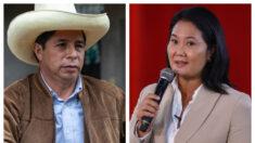 Resultados de ONPE al 100 %: Pedro Castillo 50.125 % y Keiko Fujimori 49.875 %