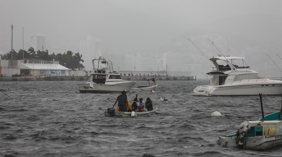 Tormenta Rick se forma frente a costas de Guerrero en el Pacífico mexicano