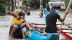 Al menos 6 muertos y 180,000 afectados por las inundaciones en Sri Lanka