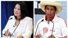 Fujimori alcanza el 50.3% y Castillo el 49.7% en elecciones de Perú: Boca de urna