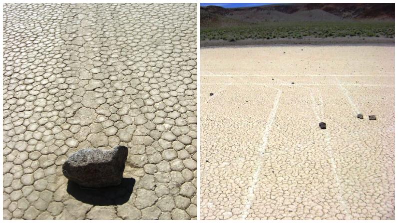 El extraño fenómeno de las piedras del Valle de la Muerte que se mueven solas: ¿misterio revelado?