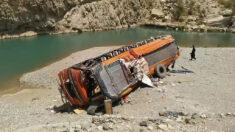 Al menos 20 muertos y 50 heridos en un accidente de autobús en Pakistán