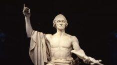 """Arte clásico americano: El maravilloso """"George Washington"""" de Horatio Greenough"""