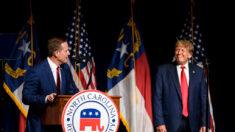 Trump respalda al representante Ted Budd y Lara Trump anuncia que no se presentará al Senado