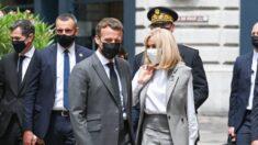 Hombre abofetea al presidente Emmanuel Macron durante un viaje oficial