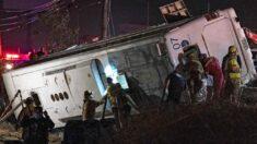 Accidente de autobús deja 7 muertes en la mexicana Baja California