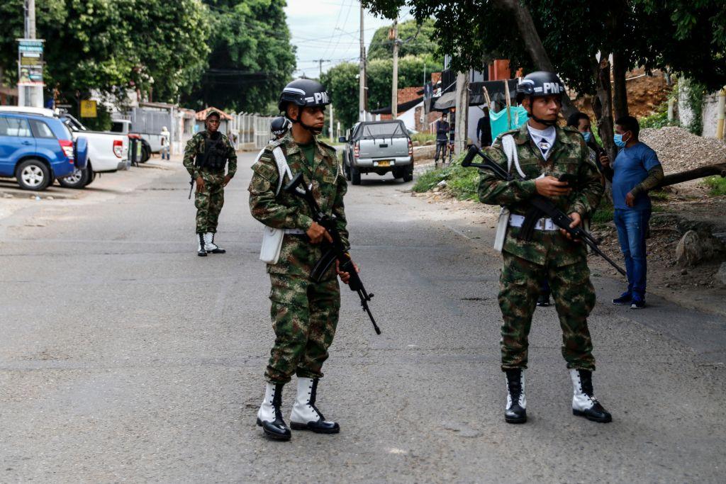 Mueren 5 soldados colombianos y tres heridos en ataque del Clan del Golfo